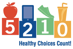 5-2-1-0 Healthy Choices Count! Kick Off