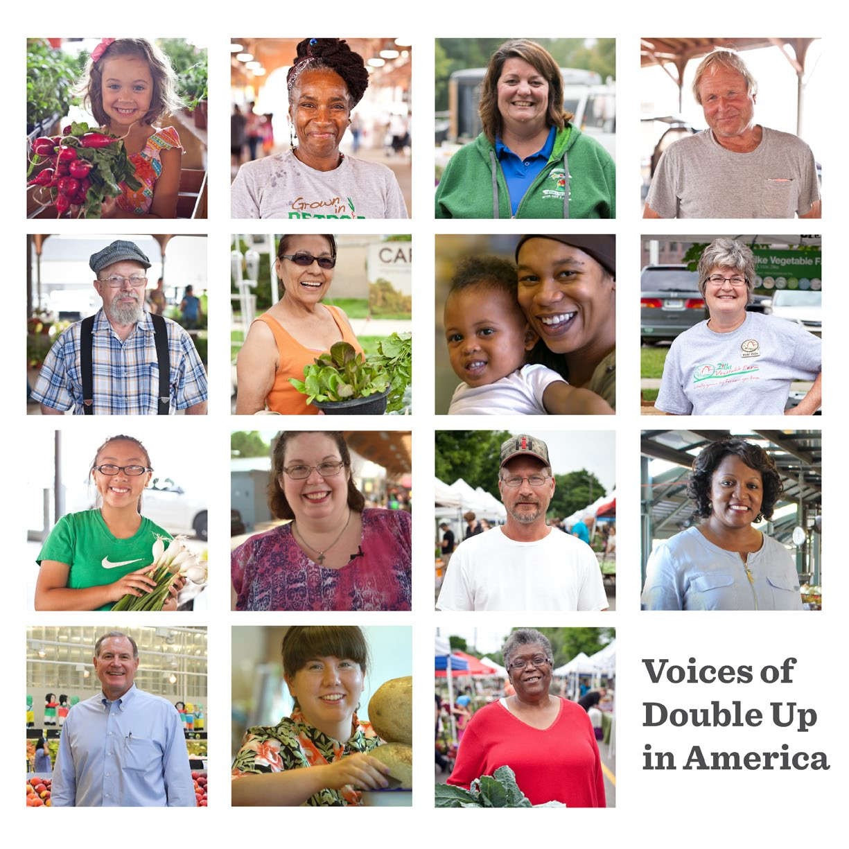 Voices of Double Up Food Bucks in America