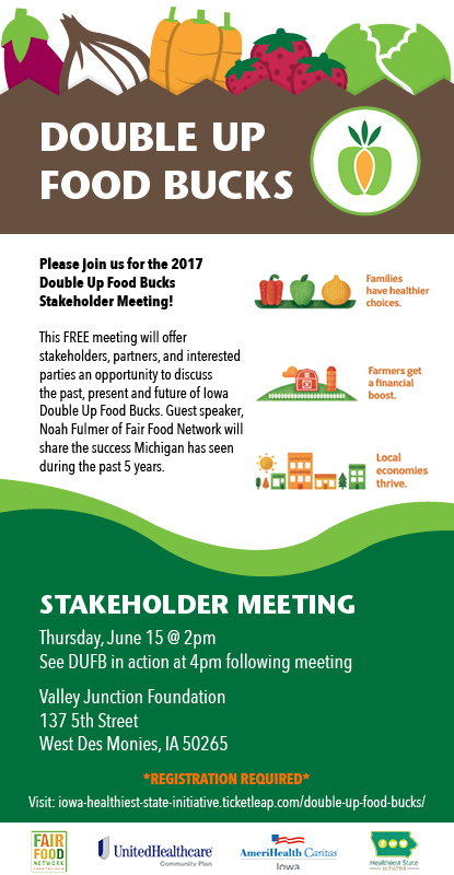 Double Up Food Bucks Stakeholder Event