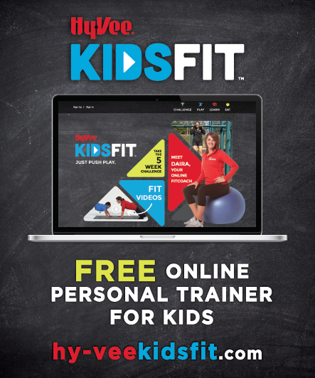 HyVee Kids Fit Flyer