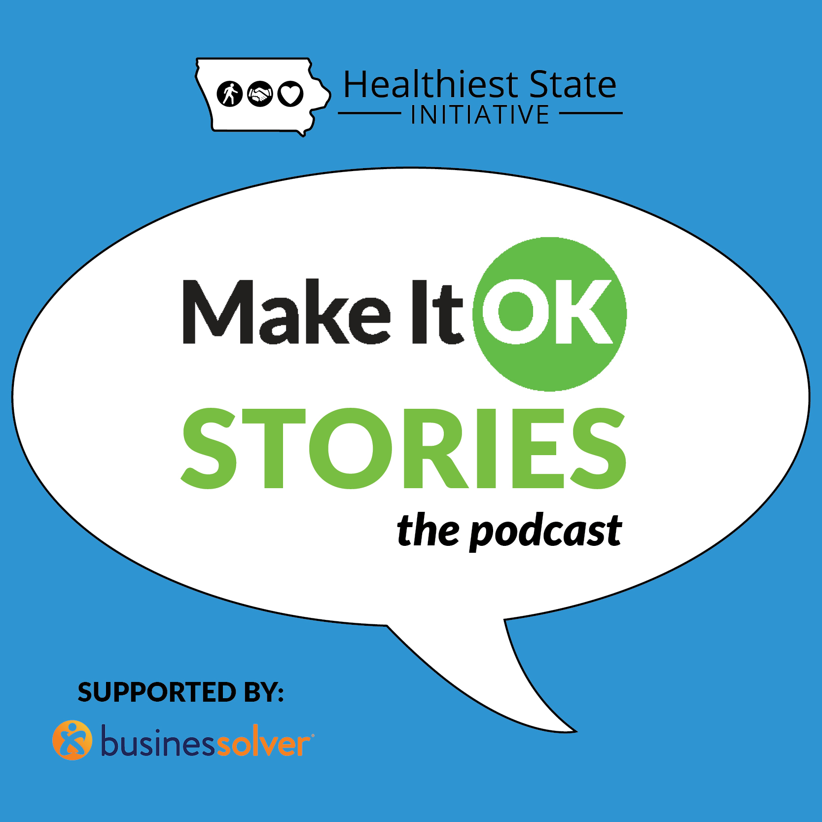 Listen now! Make It OK Stories: The Podcast
