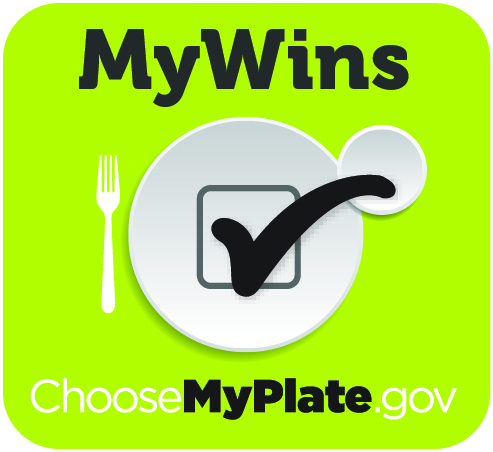 MyPlate, MyWins Button