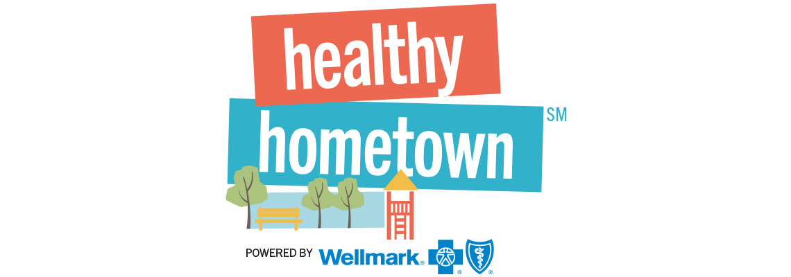 Healthy Hometown Powered by Wellmark Logo