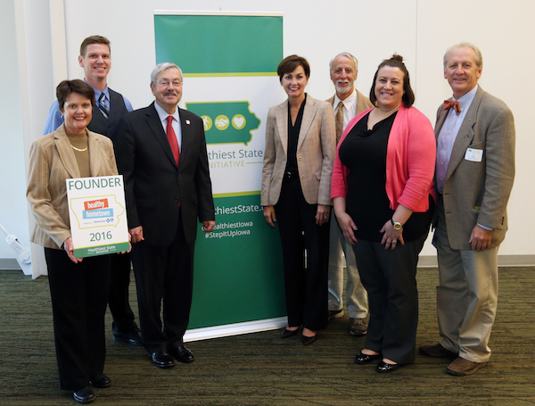 Fairfield receives Healthy Hometown Founder award