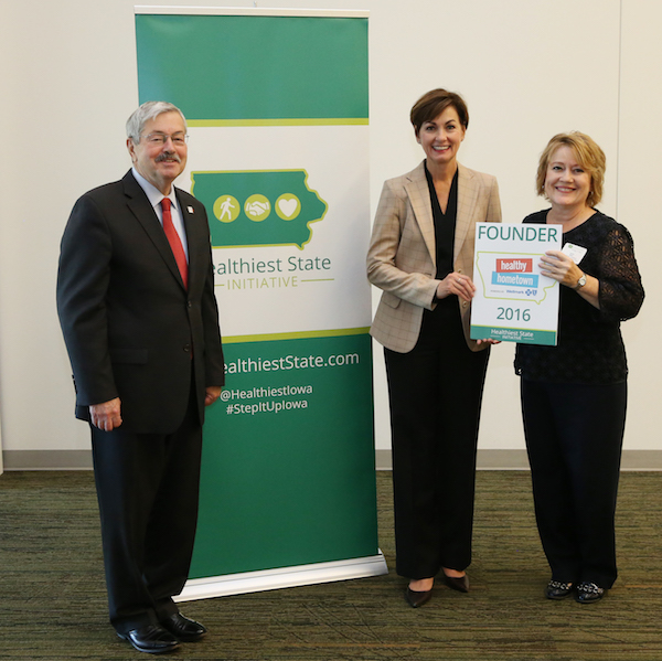 Sioux City receives Heathy Hometown Founder award