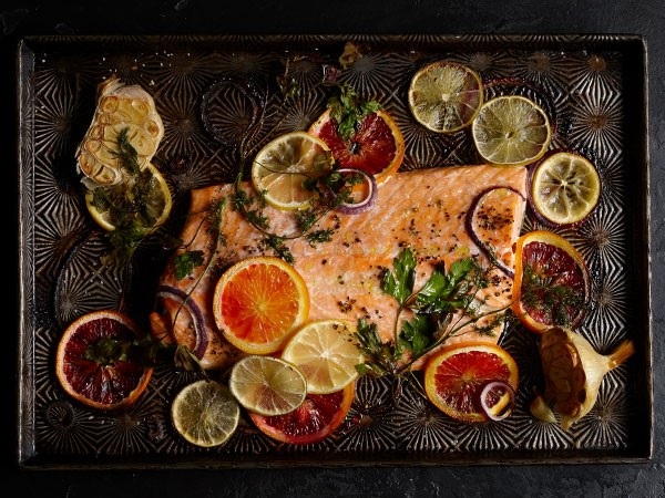 Recipe: Citrus-Baked Salmon