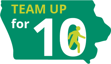 'Team Up for 10' years of Healthiest State Annual Walk