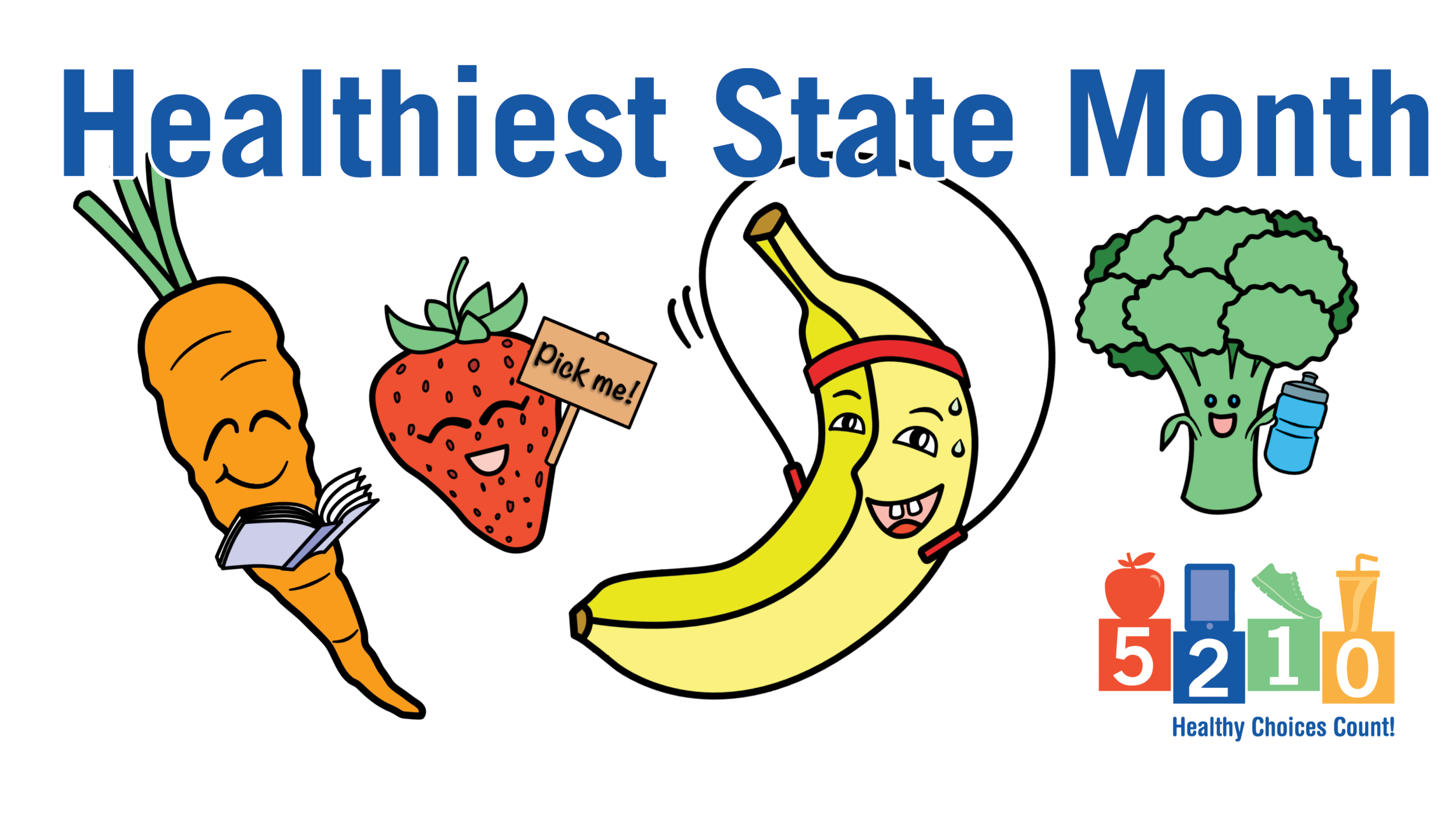 Healthiest State Month
