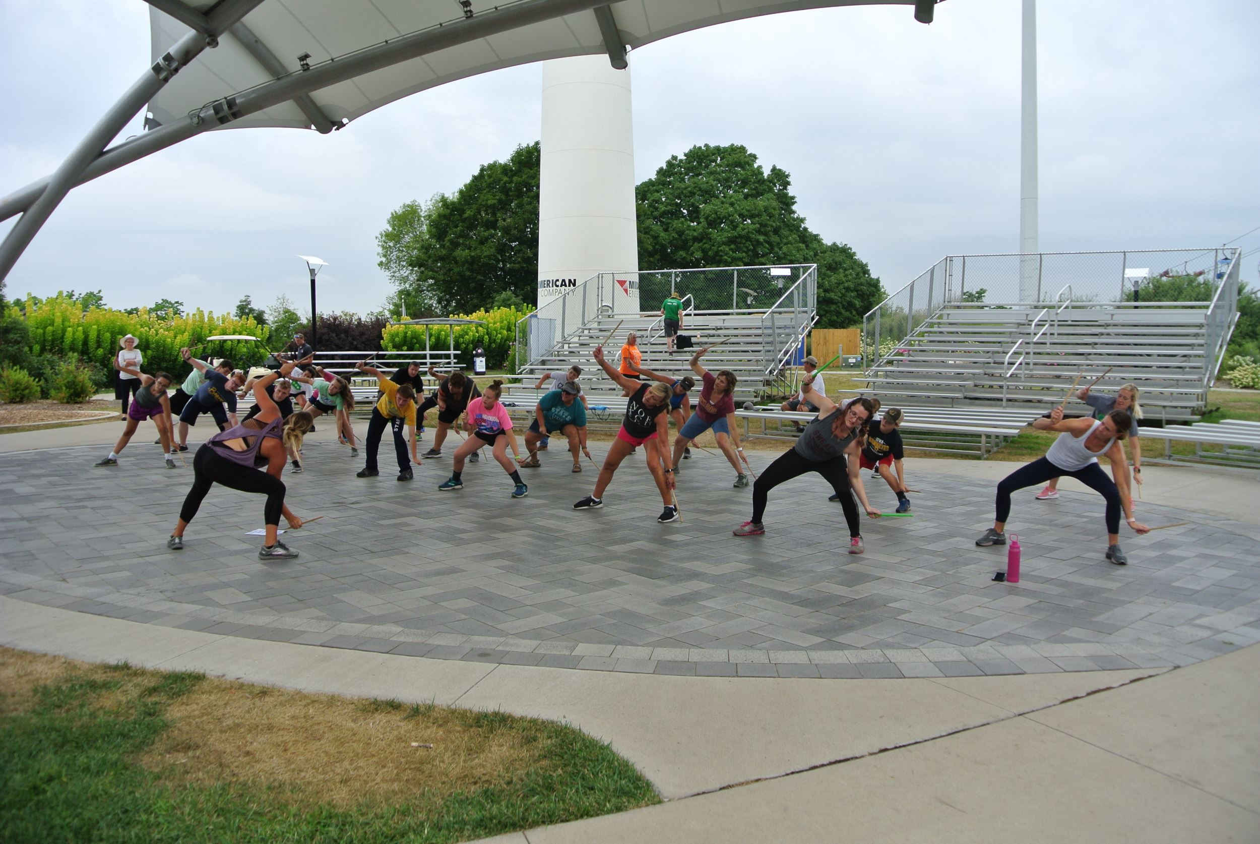 2019 Fitness on the Hill at the Iowa State Fair schedule