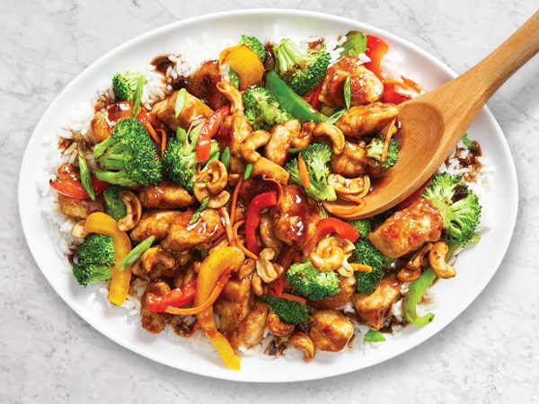 Recipe: Honey-Cashew Chicken Stir-Fry