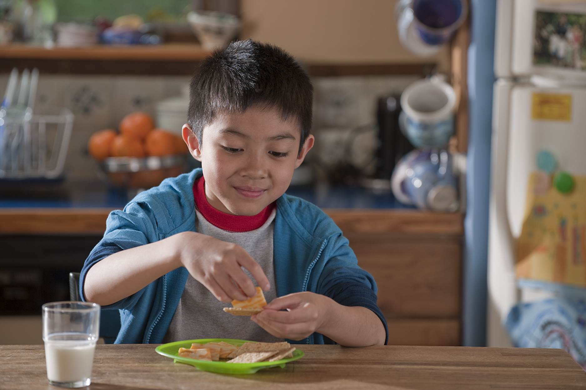Healthy at-home lunch ideas for your kids