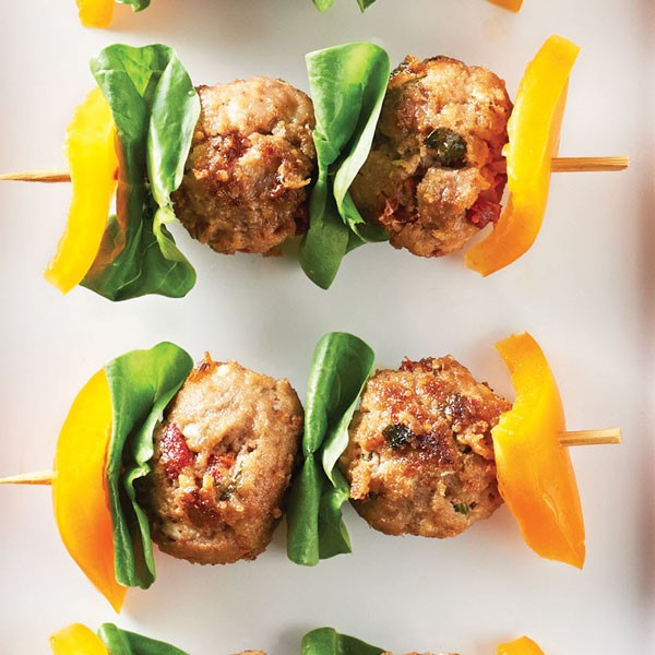 Recipe: Mediterranean Turkey Meatballs